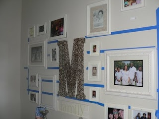 How to make a wall collage work
