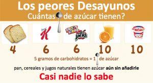 alimentos con azúcar, los 4 peores carbo