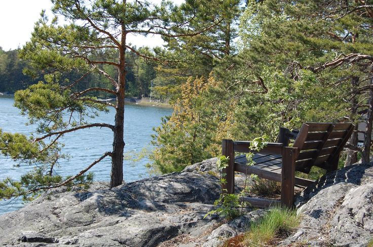 Great view from the cliff www.visitporvoo.fi