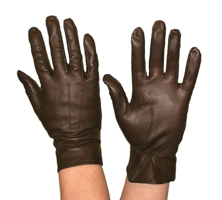 Leather Showing Gloves