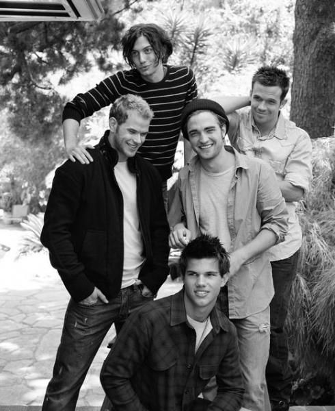 """the boys from the original """"Twilight"""" movie....but Peter Fancinelli is missing."""