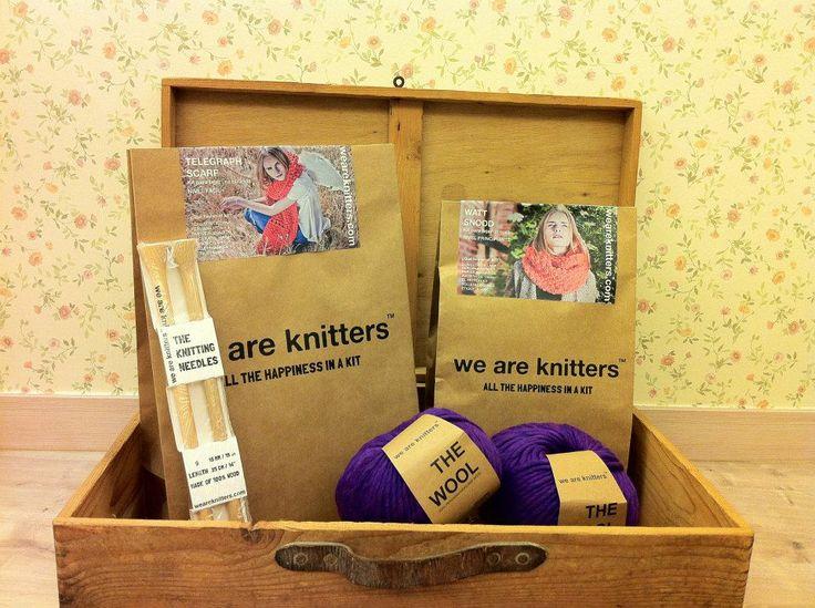 Kit de #weareknitters para hacerte tu propia bufanda o cuello con la mejor lana peruana