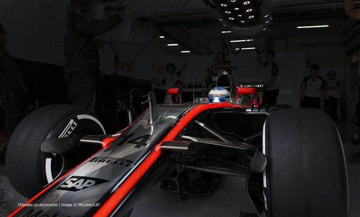 Fernando Alonso, McLaren, Sepang International Circuit, 2015