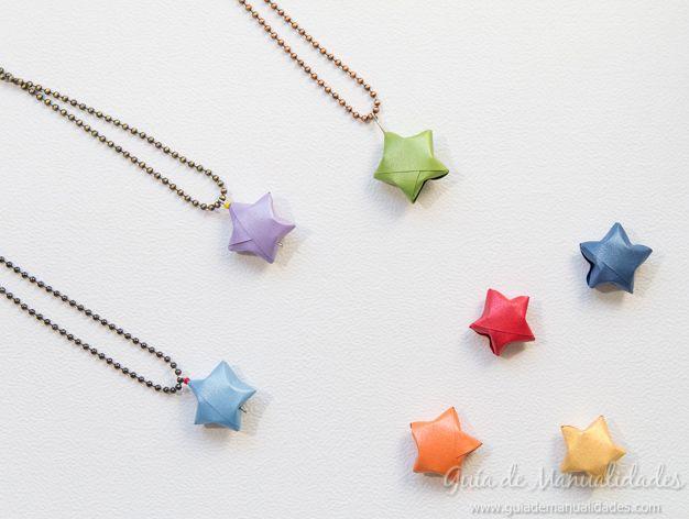 1252 best manualidades images on pinterest colors - Origami de una estrella ...