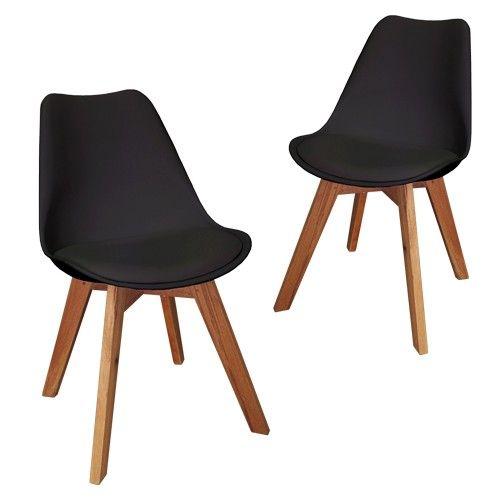 Roxy Chair - Black - Set of 2