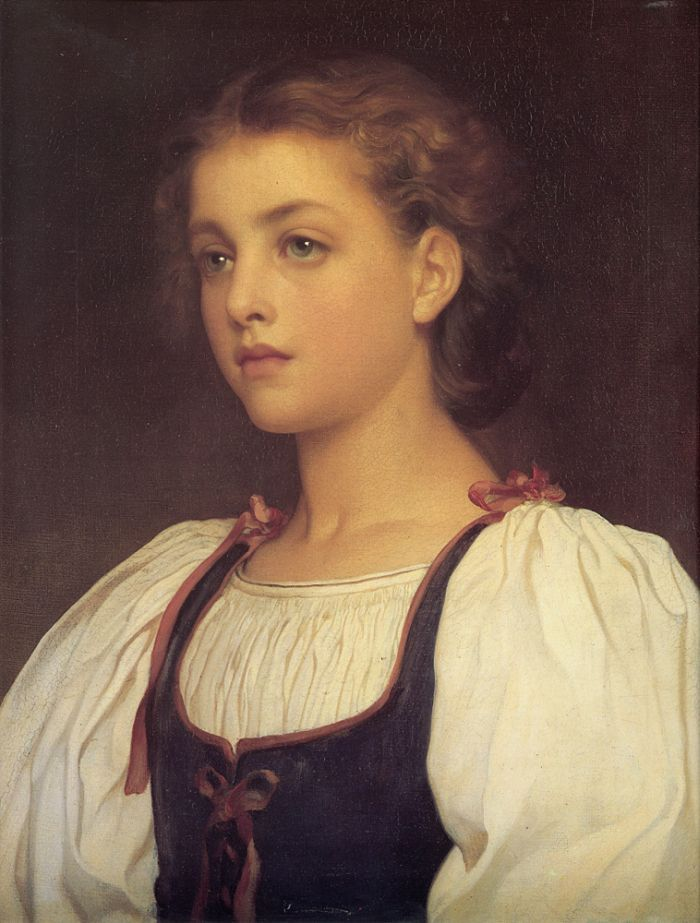 Biondina by Lord Frederick Leighton  One of my favorite paintings