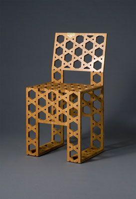 Kaguya-hime Bamboo Chair