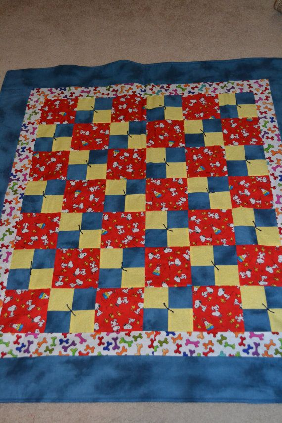 17 Best Images About Snoopy Quilts On Pinterest Peanuts