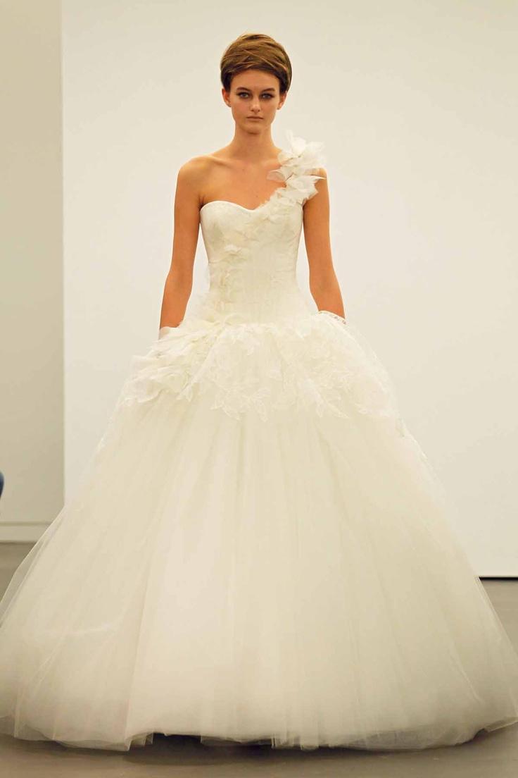 509 Best One Shoulder Strap Wedding Dress Inspiration