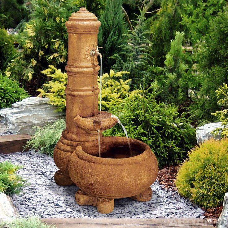 Азиатский керамический фонтан