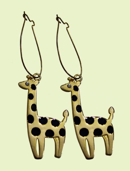 Giraffes. #giraffes #earrings