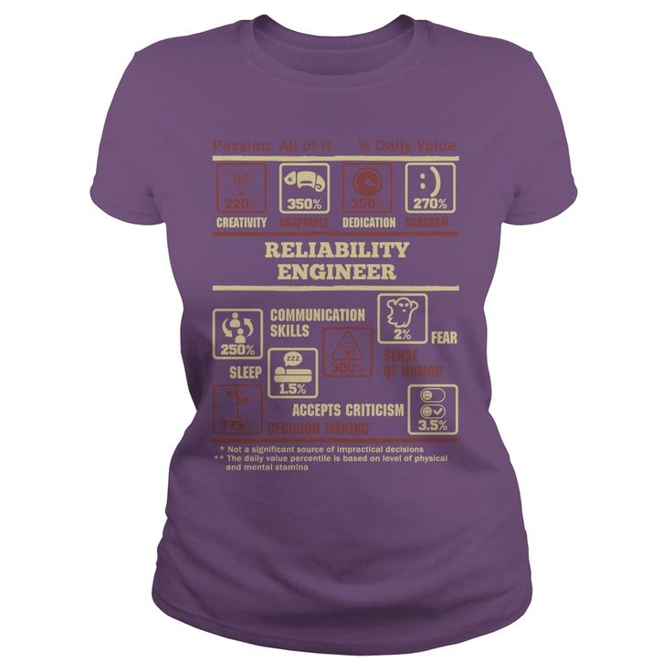 Awesome Tee For Reliability Engineer T-Shirt, Hoodie