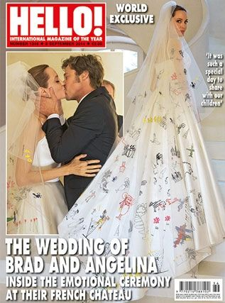 Brad and Angelina got HOW MUCH for their wedding photos!?