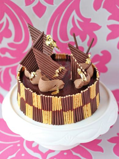 Chocolate Pocky Cake