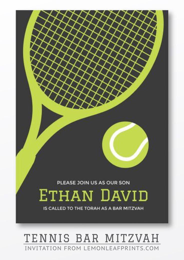 19 best Tennis bar mitzvah images on Pinterest | Events, Bedroom ...