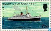 Postzegel Guernsey
