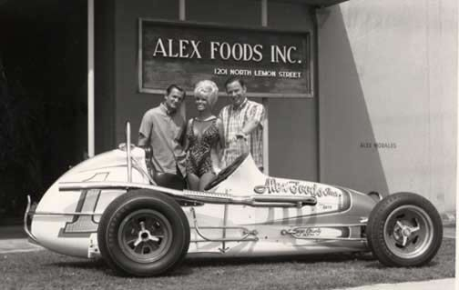Allen Heath Race Car Driver