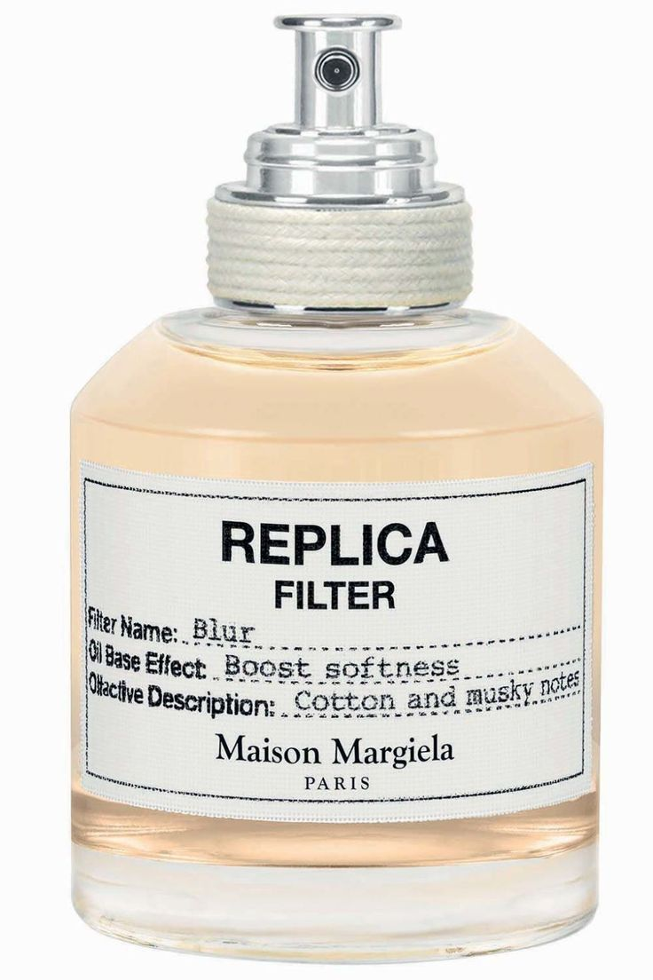 Maison Margiela brings couture to its fragrance line with Replica Blur, a lightweight oil of white musk, amber, and cotton. Dab it onto skin before another Replica fragrance (we love using it with the coconut-and-bergamot infused Replica Beach Walk) to create a custom scent. Maison Margiela Replica Blur oil filter