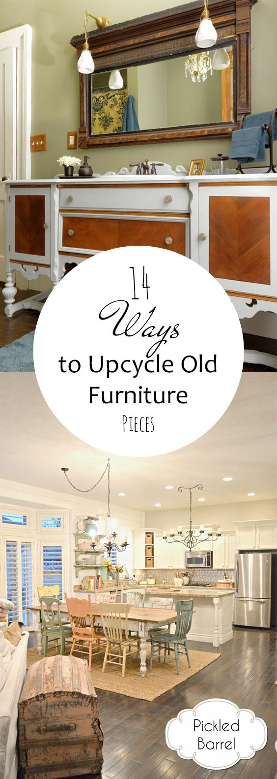 How to Reuse Old Furniture, How to Upcycle Old Furniture, Things to Do With Old Furniture, Furniture Remodeling, Easy DIY Projects, Quick DIY Projects, DIY Furniture, DIY Home