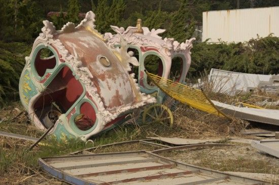 past fairground rides this would be something awesome to find for a little girls penthouse...