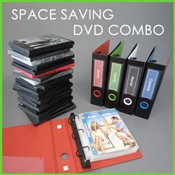 DVD Binder Set