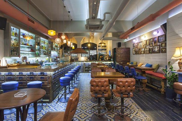 Mexil Design Cafe Bar Portego Larisa #mexil #cafe #bar #larisa