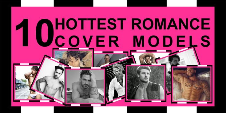 Top Ten: 10 Hottest Romance Cover Models