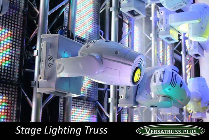 Lighting Truss by VersaTruss Plus http://versatrussplus.com #lightingtruss