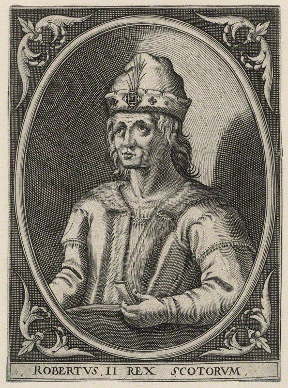 Robert the Bruce's grandson, Robert Stewart, became King of Scotland on this day in 1371. He was the first monarch of the House of Stewart
