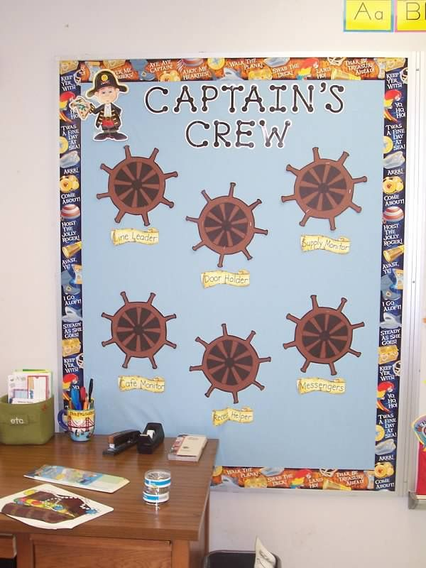Pirate Task Board - I like the font, maybe pirate ship with all my little pirates lined up at the bottom?