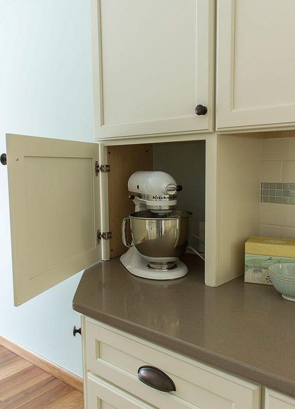 05 Acerra Traditional Kitchen Appliance Garage Kitchen Ideas