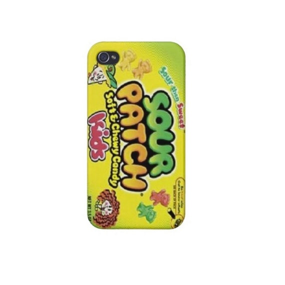 sour patch kids iPhone 4/4s/5 & iPod❤ 4 Case I would try to eat my phone all the time if I had this case!