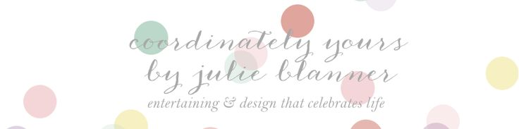 Coordinately Yours, by Julie Blanner | Entertaining & Design Blog that Celebrates Life: A Last Minute Wedding Shower Gift