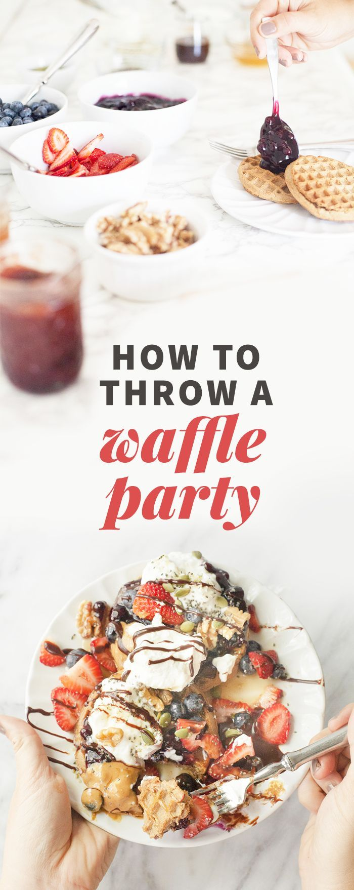 AD: How to Throw a Waffle Party