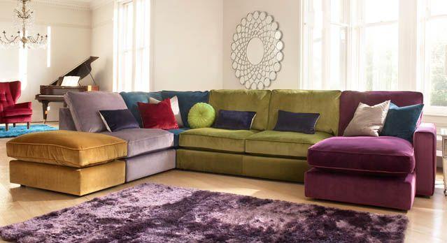 Harlequin Corner Sofa ~Furniture Village