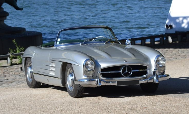 A 1958 Mercedes-Benz #300SL was the highest seller at the 2015 Artcurial's Paris auction. $943,890 (all results include auction fees, and are converted from Euro to U.S. dollars). Via: https://news.classiccars.com/sports-gt-cars-lift-artcurial-auction-8-m
