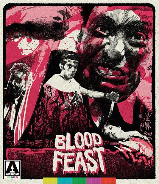'Nothing so appalling in the annals of horror!' Blood Feast is a 1963 American splatter horror film directed by Herschell Gordon Lewis. It concerns a psychopathic food caterer named Fua…