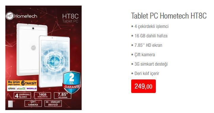 Bim 20 Nisan 2018 Pc Hometech Ht8c Tablet Nisan Elektronik Kiliflar