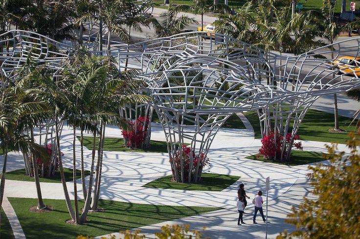 Miami beach soundscape park miami beach florida united for Landscape design miami