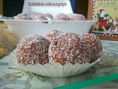 Sütőtökös paleo kókuszgolyó