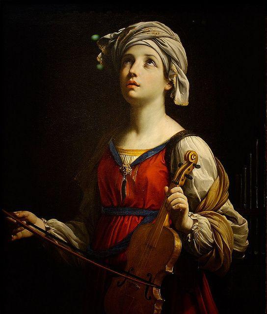 Guido Reni - Saint Cecilia [1606]