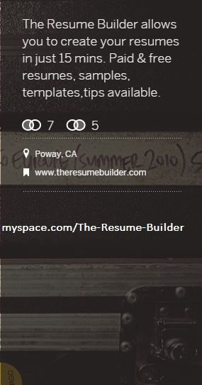 Free Resume Writing Examples  The Resume Builder