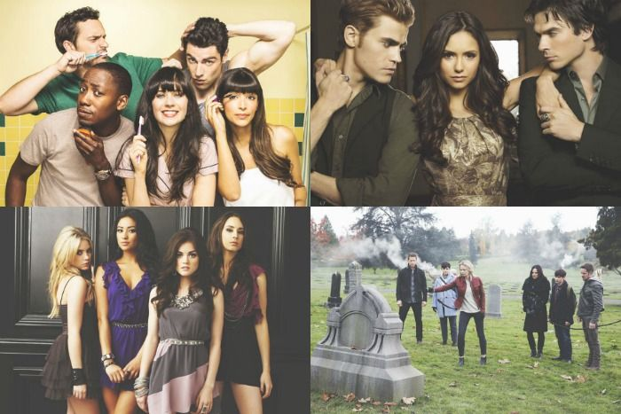 Mijn Favoriete (Netflix) Series - Once Upon A Time, Pretty Little Liars, New Girl & The Vampire Diaries