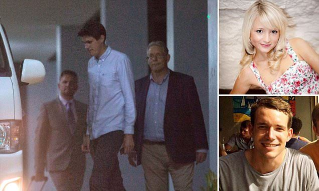 Father of murdered British backpacker weeps over dead body photos