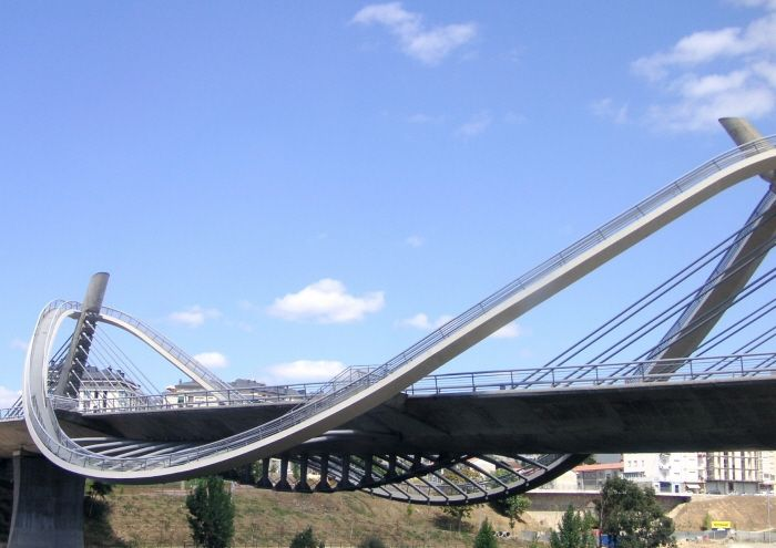 Calatrava bridge.  Love his designs for buildings, bridges, and building elements.