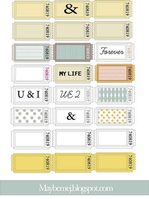 13 best labels images on Pinterest Printable labels, Labels free - printable blank tickets