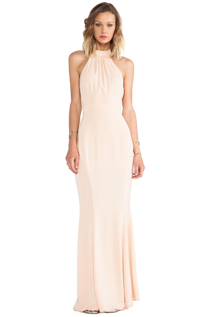 #REVOLVEclothing I LOVE this!! Simple and elegant. Dress up with jewelry or leave plain.