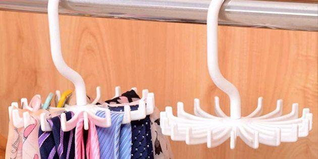 Круглая вешалка для галстуков и платков