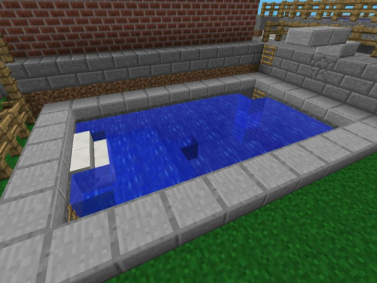 Sarah Swimming Pool Minecraft Pe Minecraft Pinterest Swimming Swimming Pools And Pools