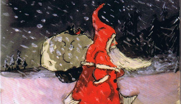 Brev fra julenissen Hver jul ble det levert mystiske brev med frimerker fra Nordpolen til J.R.R Tolkiens barn. De rikt illustrerte brevene var tilsynelatende fra julenissen selv.